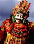 Indonesia, Bali, Ubud, Mask (Topeng) dancer performing. Stock Photo - Premium Rights-Managed, Artist: Asia Images, Code: 849-02867636