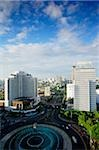 Late afternoon view of the Hotel Indonesia roundabout, Welcome monument and buildings along Jalan Thamrin, Jakarta Stock Photo - Premium Rights-Managed, Artist: Asia Images, Code: 849-02877917