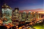 Sunset view of office buildings and construction along Jalan Jend Sudirman, Senayan, Jakarta Stock Photo - Premium Rights-Managed, Artist: Asia Images, Code: 849-02877925