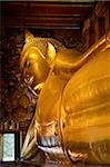 Reclining Buddha from Wat Pho, Bangkok, Thailand Stock Photo - Premium Rights-Managed, Artist: Asia Images, Code: 849-02877944