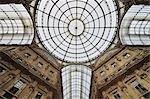Glass Ceiling and Dome of Galleria Vittorio Emanuele, Milan, Lombardy, Italy Stock Photo - Premium Rights-Managed, Artist: Martin Ruegner, Code: 700-02883151