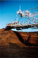 Brown Coal Mining, Bucket Excavator, LaTrobe Valley, Australia Stock Photo - Premium Royalty-Freenull, Code: 600-02886052