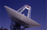radio telescope - Satellite Receiving Dish Stock Photo - Premium Royalty-Freenull, Code: 600-02886388