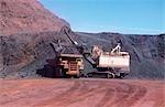 Iron Ore Mining, Open Cut, Australia