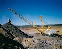 Black Coal Mining, Dragline Removing Overburden, Australia Stock Photo - Premium Royalty-Freenull, Code: 600-02886583