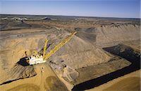 Black Coal Mining, Dragline Removing Overburden, Australia Stock Photo - Premium Royalty-Freenull, Code: 600-02886594