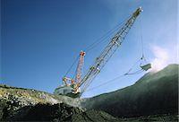 Black Coal Mining, Dragline Removing Overburden, Australia Stock Photo - Premium Royalty-Freenull, Code: 600-02886597