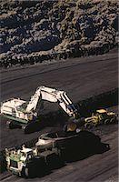 Black Coal Mining, Loading Coal Trucks, Australia Stock Photo - Premium Royalty-Freenull, Code: 600-02886598