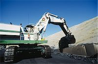 Black Coal Mining, Loading Coal Trucks, Australia Stock Photo - Premium Royalty-Freenull, Code: 600-02886600