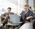 Business People Waiting in Airport Lounge Stock Photo - Premium Rights-Managed, Artist: Bob Devan, Code: 700-02887151