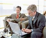 Business People Waiting in Airport Lounge Stock Photo - Premium Rights-Managed, Artist: Bob Devan, Code: 700-02887154