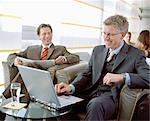 Business People Waiting in Airport Lounge Stock Photo - Premium Rights-Managed, Artist: Bob Devan, Code: 700-02887155