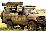 Safari Vehicle with Camera Lens in Window, Masai Mara, Kenya Stock Photo - Premium Rights-Managed, Artist: Ken & Michelle Dyball, Code: 700-02887435