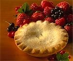Mixed Berry Pies Stock Photo - Premium Rights-Managed, Artist: foodanddrinkphotos, Code: 824-02887787