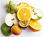 MIxed Fruit Stock Photo - Premium Rights-Managed, Artist: foodanddrinkphotos, Code: 824-02887790