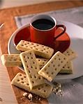 Coffee and Shortbread Stock Photo - Premium Rights-Managed, Artist: foodanddrinkphotos, Code: 824-02887799