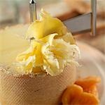 Cheese/ Teter de moine /Girolle Stock Photo - Premium Rights-Managed, Artist: foodanddrinkphotos, Code: 824-02889259