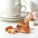 Selection of coffee biscuits Stock Photo - Premium Rights-Managed, Artist: foodanddrinkphotos, Code: 824-02889260