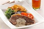 Steak with Pepper sauce Stock Photo - Premium Rights-Managed, Artist: foodanddrinkphotos, Code: 824-02889401