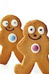 Gingerbread men / Biscuits Stock Photo - Premium Rights-Managed, Artist: foodanddrinkphotos, Code: 824-02889504