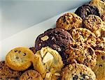 Mixed Muffins and Cookies Stock Photo - Premium Rights-Managed, Artist: foodanddrinkphotos, Code: 824-02889640