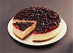Cheesecake Stock Photo - Premium Rights-Managed, Artist: foodanddrinkphotos, Code: 824-02889661