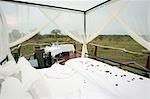 Romantic bed set up in the open wilderness, Kapama Lodge, Limpopo Province, South Africa Stock Photo - Premium Royalty-Free, Artist: UpperCut Images, Code: 682-02891440