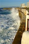 Heavy Seas Pounding a Sea Wall at Mouille Point Stock Photo - Premium Royalty-Free, Artist: Jeremy Woodhouse, Code: 682-02892306