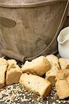 Traditional, South African baked bread biscuits - locally known as Rusks. Studio shot Stock Photo - Premium Royalty-Free, Artist: Elmari Joubert, Code: 682-02894398