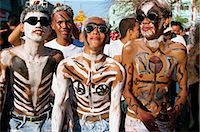 pictures philippine festivals philippines - A group of men with body decoration and sunglasses during the Mardi Gras, Ati Atihan, at Kalico on Panay Island, Philippines, Southeast Asia, Asia Stock Photo - Premium Rights-Managednull, Code: 841-02899069