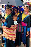 A Hmong Hill tribe woman and baby in Luang Prabang, Laos, Indochina, Southeast Asia, Asia Stock Photo - Premium Rights-Managed, Artist: Robert Harding Images, Code: 841-02899107