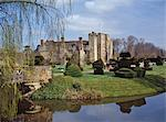 Leeds Castle, first used as a royal castle in the 9th century, rebuilt in stone by the Normans around 1120, near Maidstone, Kent, England, United Kingdom, Europe Stock Photo - Premium Rights-Managed, Artist: Robert Harding Images, Code: 841-02900080
