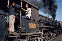 steam engine - Steam locomotive, India, Asia Stock Photo - Premium Rights-Managednull, Code: 841-02900425