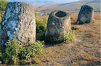 Plain of Jars, Xieng Khouang (Xieng Khuang) Province, Laos Stock Photo - Premium Rights-Managednull, Code: 841-02901357