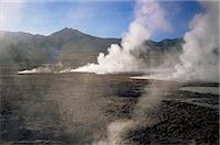 El Tatio Geysers and fumaroles, Andes at 4300m, northern area, Chile, South America Stock Photo - Premium Rights-Managednull, Code: 841-02901717