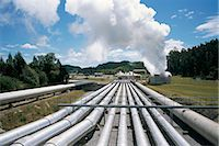 pipework - Wairakei geothermal power station, near Lake Taupo, North Island, New Zealand, Pacific Stock Photo - Premium Rights-Managednull, Code: 841-02901862