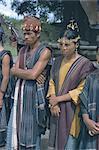 Toba Batak dancers, North Sumatra, Sumatra, Indonesia, Southeast Asia, Asia