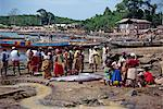 Fishing boats and catch, Dixcove, Ghana, West Africa, Africa Stock Photo - Premium Rights-Managed, Artist: Robert Harding Images, Code: 841-02902281