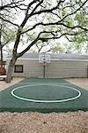Outdoor Basketball Court Stock Photo - Premium Rights-Managed, Artist: Mark Peter Drolet, Code: 700-02912101