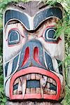 Totem Pole, Vancouver, British Columbia, Canada Stock Photo - Premium Rights-Managed, Artist: Christopher Gruver, Code: 700-02912185