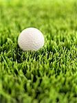 Close-up of Golf Ball Stock Photo - Premium Rights-Managed, Artist: James Tse                , Code: 700-02912405