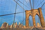 Brooklyn Bridge and Lower Manhattan, Manhattan, New York, New York, USA Stock Photo - Premium Rights-Managed, Artist: Rudy Sulgan, Code: 700-02912861