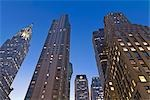 Chrysler Building and Office Buildings, Manhattan, New York, New York, USA