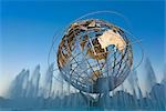 Unisphere, Flushing Meadows Park, Queens, New York, New York, USA Stock Photo - Premium Rights-Managed, Artist: Rudy Sulgan, Code: 700-02912868