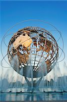 Unisphere, Flushing Meadows Park, Queens, New York, New York, USA Stock Photo - Premium Rights-Managednull, Code: 700-02912869
