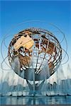 Unisphere, Flushing Meadows Park, Queens, New York, New York, USA Stock Photo - Premium Rights-Managed, Artist: Rudy Sulgan, Code: 700-02912869