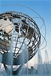Unisphere, Flushing Meadows Park, Queens, New York, New York, USA Stock Photo - Premium Rights-Managed, Artist: Rudy Sulgan, Code: 700-02912870