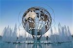 Unisphere, Flushing Meadows Park, Queens, New York, New York, USA
