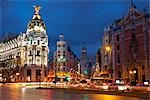 Calle Gran Via, Madrid, Spain Stock Photo - Premium Rights-Managed, Artist: JW, Code: 700-02912943