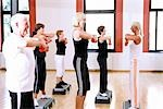 group  doing exercises Stock Photo - Premium Rights-Managed, Artist: F1Online, Code: 853-02913616